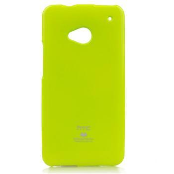 Puzdro Jelly Mercury pre HTC ONE - E8, Lime