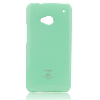 Puzdro Jelly Mercury pre HTC ONE - E8, Mint