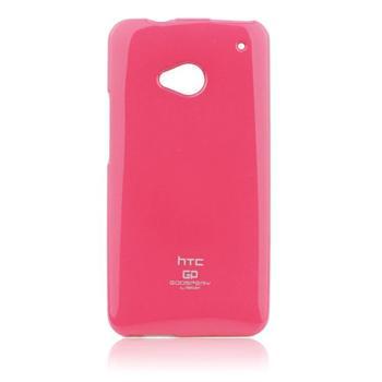 Puzdro Jelly Mercury pre HTC ONE - E8, Pink