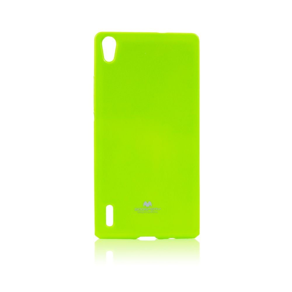 Puzdro Jelly Mercury pre Huawei Ascend P7, Lime