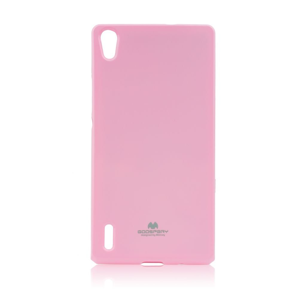 Puzdro Jelly Mercury pre Huawei Ascend P7, Pink