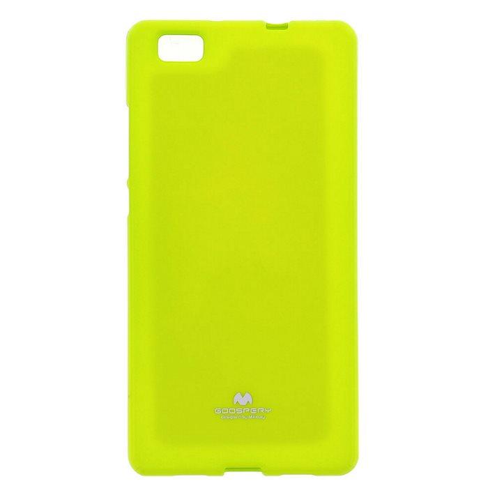Puzdro Jelly Mercury pre Huawei P8, Lime