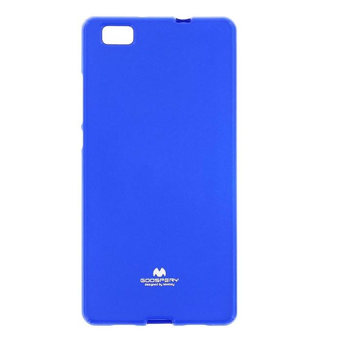 Puzdro Jelly Mercury pre Huawei P8 Lite, Blue