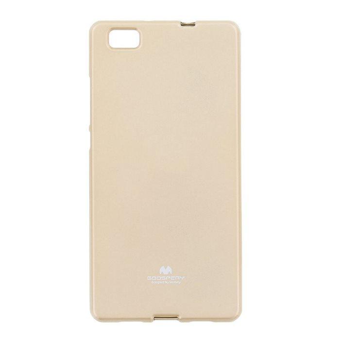 Puzdro Jelly Mercury pre Huawei P8 Lite, Gold 8595642220838