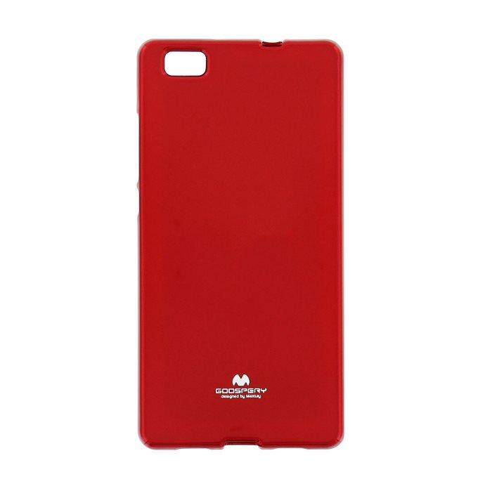 Puzdro Jelly Mercury pre Huawei P8 Lite, Red