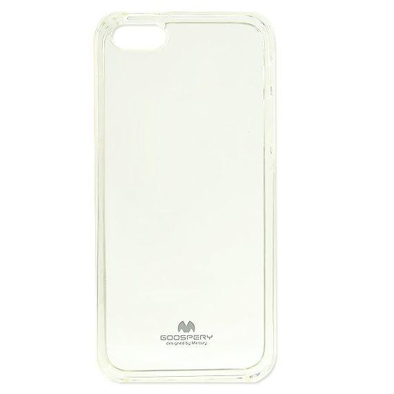 Puzdro Jelly Mercury pre Huawei P8 Lite, Transparent