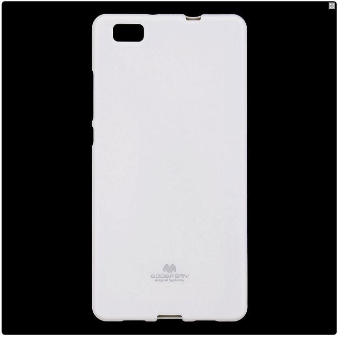 Puzdro Jelly Mercury pre Huawei P8 Lite, White