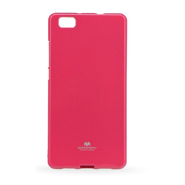 Puzdro Jelly Mercury pre Huawei P8, Pink