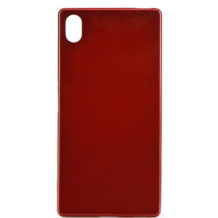 Puzdro Jelly Mercury pre Lenovo Vibe C2, Red