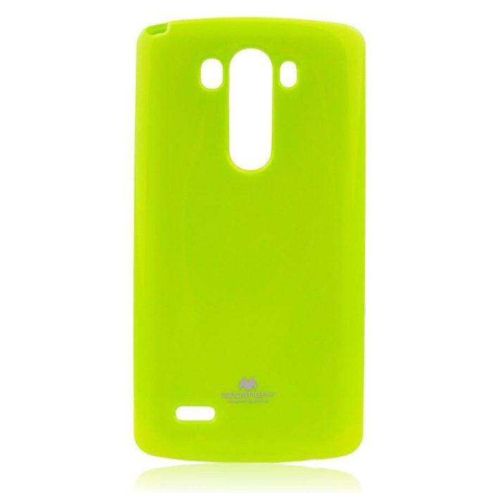 Puzdro Jelly Mercury pre LG G3 - D855, Lime