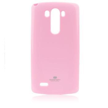 Puzdro Jelly Mercury pre LG G3 Stylus - D690, Pink