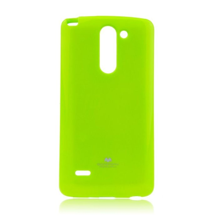 Puzdro Jelly Mercury pre LG G3s - D722, Lime
