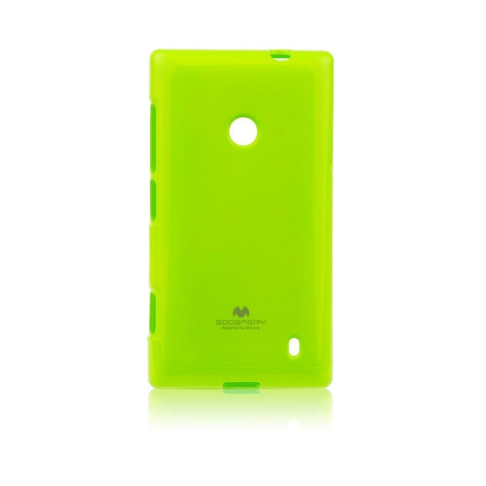 Puzdro Jelly Mercury pre Nokia Lumia 630 a 635, Lime
