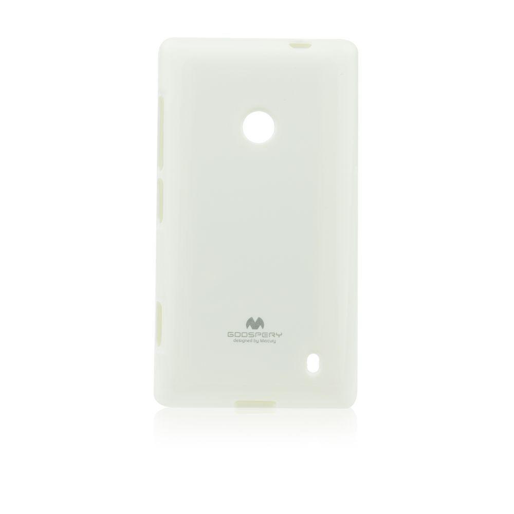 Puzdro Jelly Mercury pre Nokia Lumia 630 a 635, White