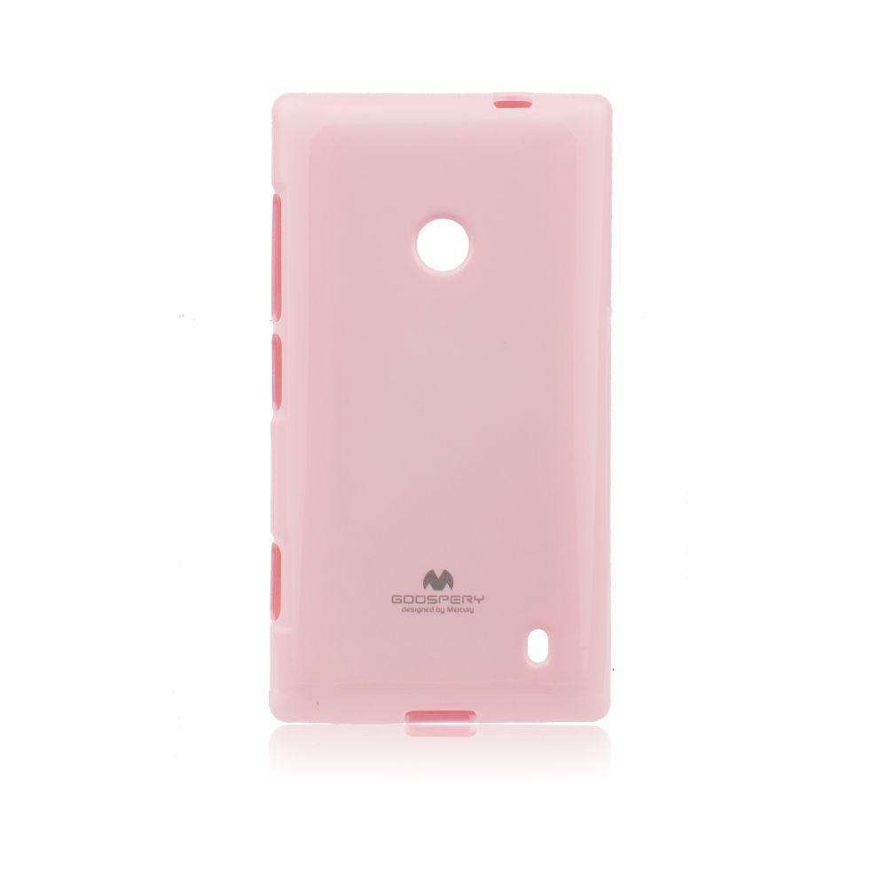 Puzdro Jelly Mercury pre Nokia X, Pink
