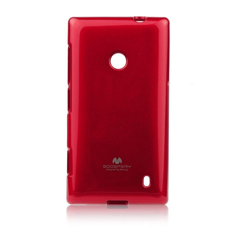 Puzdro Jelly Mercury pre Nokia X, Red