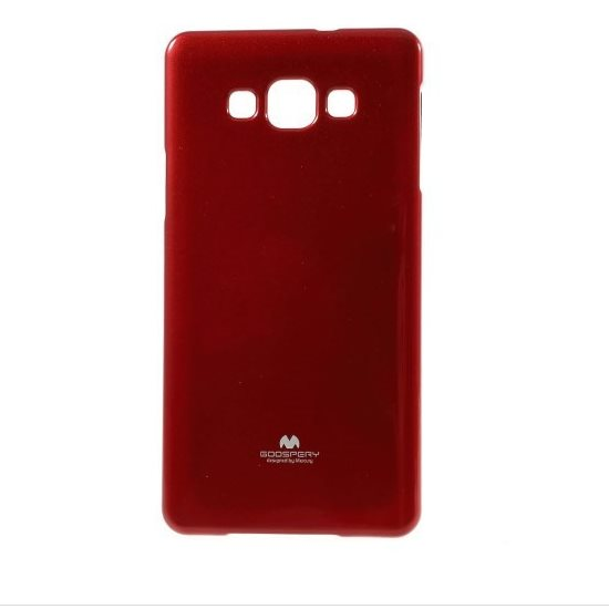 Puzdro Jelly Mercury pre Samsung Galaxy A7 - A700F, Red
