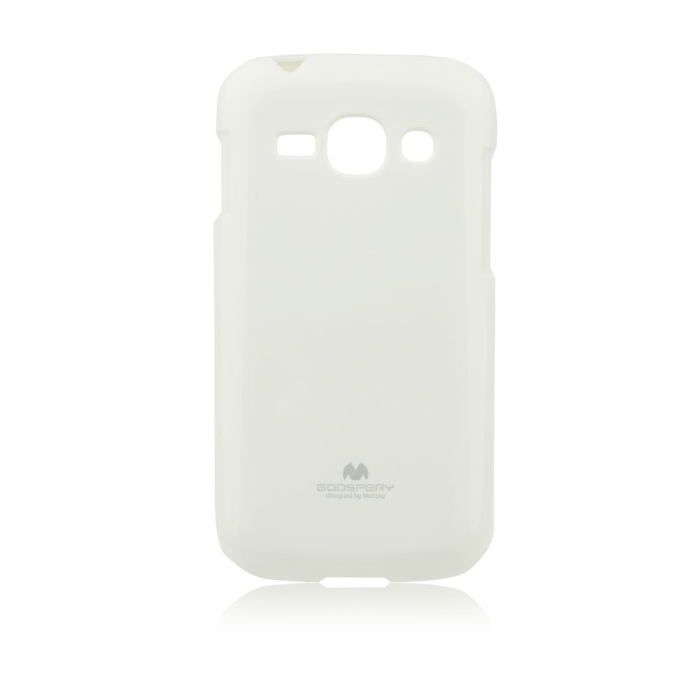 Puzdro Jelly Mercury pre Samsung Galaxy Ace 3 - S7272, White