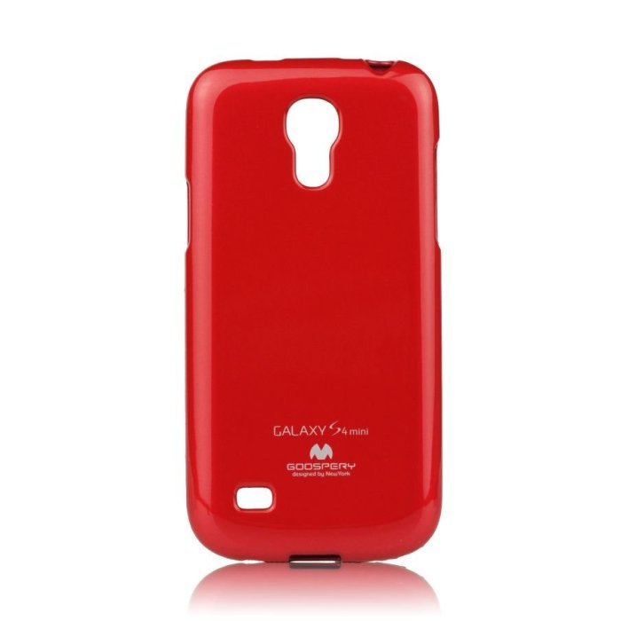 Puzdro Jelly Mercury pre Samsung Galaxy S4 Mini - i9195 a i9190 a S4 Mini VE - i9195i, Red