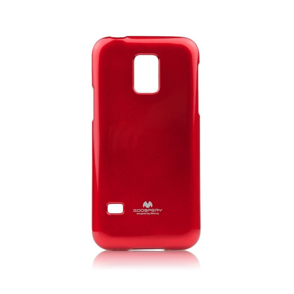 Puzdro Jelly Mercury pre Samsung Galaxy S5 Mini - G800, Red
