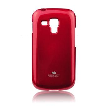 Puzdro Jelly Mercury pre Samsung Galaxy Trend Plus - S7580, Red
