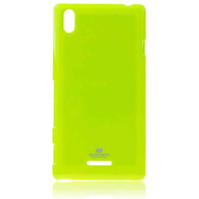 Puzdro Jelly Mercury pre Sony Xperia T3 - D5103, Lime