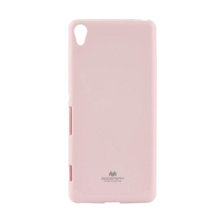 Puzdro Jelly Mercury pre Sony Xperia XA - F3111, Hot Pink