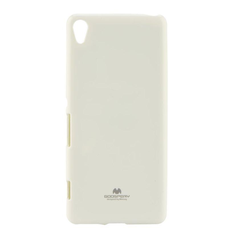 Puzdro Jelly Mercury pre Sony Xperia XA - F3111, White