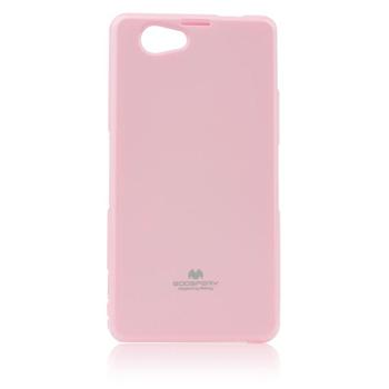 Puzdro Jelly Mercury pre Sony Xperia Z1 Compact - D5503, Pink