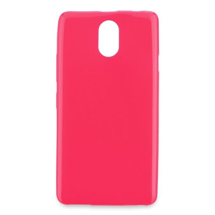 Puzdro Jelly Mercury ultra tenké 0,3mm pre Lenovo Vibe P1m, Pink 5901737306463
