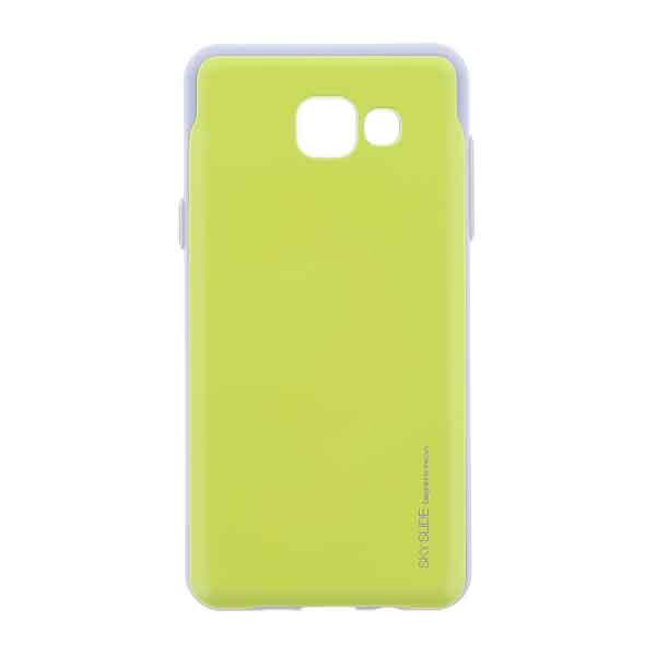 Puzdro Jelly Sky Slide Bumper pre Samsung Galaxy A5 2016 - A510F, Green 8595642249532