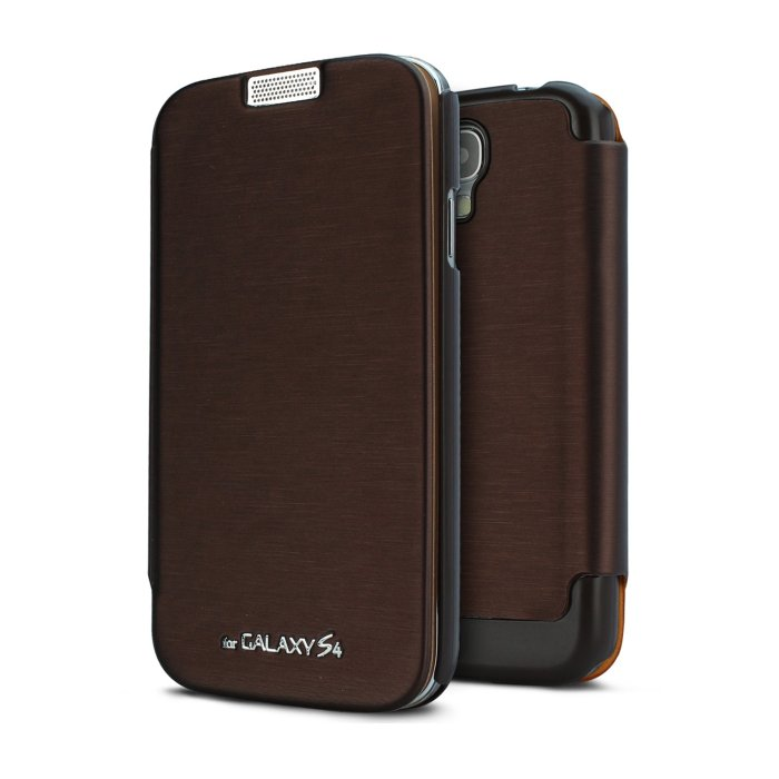 Puzdro Jelly Techno Flip pre Samsung Galaxy Note - N7000, Brown