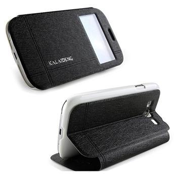 Puzdro Kalaideng Iceland pre Nokia Lumia 630, Black