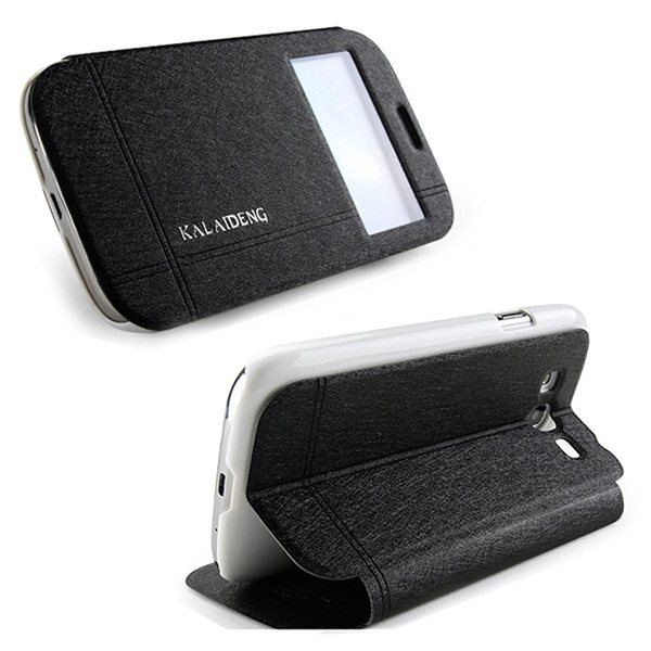Puzdro Kalaideng Iceland pre Samsung Galaxy S5 - G900 a S5 Neo - G903, Black
