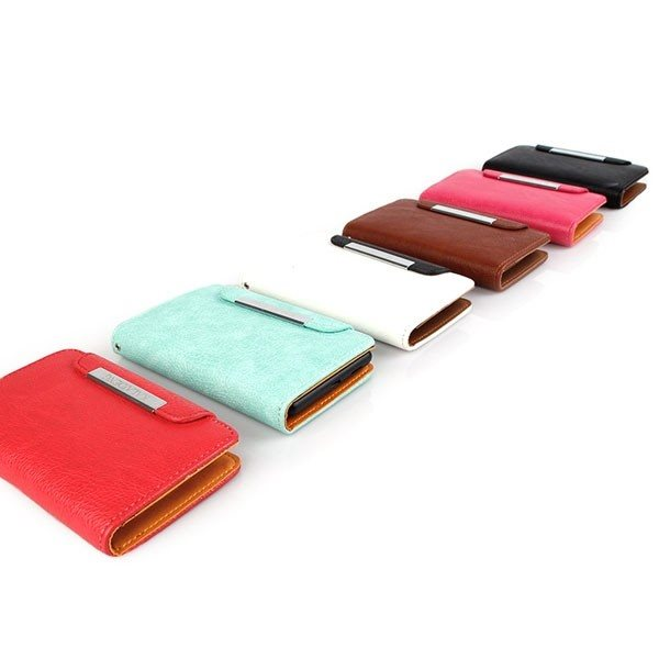 Puzdro Kalaideng Wallet pre Apple iPhone 5, Apple iPhone 5, White