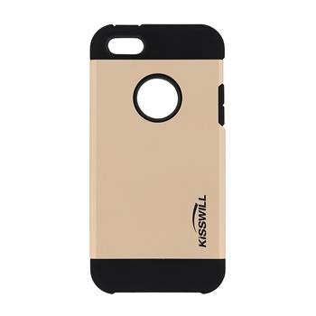 Puzdro Kisswill Slim Armor pre Apple iPhone 5, 5S a iPhone SE, Gold