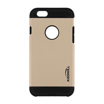 Puzdro Kisswill Slim Armor pre Apple iPhone 6 a 6S, Gold