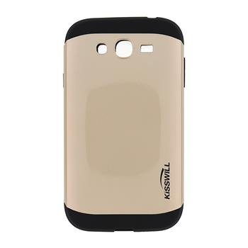 Puzdro Kisswill Slim Armor pre Samsung Galaxy S3 Mini - i8190 a S3 Mini VE, Gold