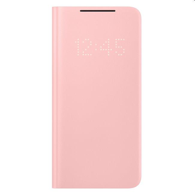 Puzdro LED View Cover pre Samsung Galaxy S21 Plus - G996B, pink (EF-NG996P) EF-NG996PPEGEE