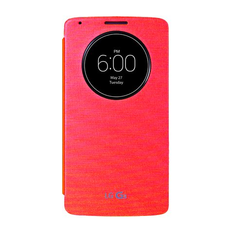 Puzdro LG CCF-345 QuickCircle pre LG G3 - D855, Red