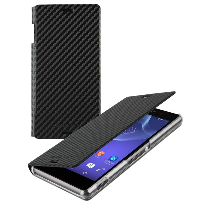 Puzdro Made for Xperia pre Sony Xperia Z3 Compact - D5803, Carbon Black