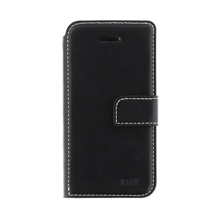 Puzdro Molan Cano Issue Book pre Motorola E6s a E6s Plus, Black