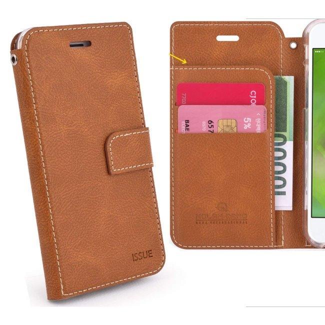 Puzdro Molan Cano Issue Book pre Xiaomi Pocophone F1, Brown