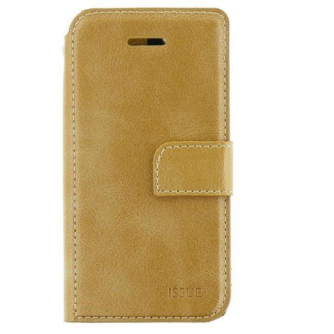Puzdro Molan Cano Issue Book pre Xiaomi Redmi Note 8 Pro, Gold