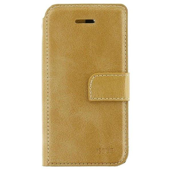 Puzdro Molan Cano Issue Book pre Xiaomi Redmi Note 9, zlaté