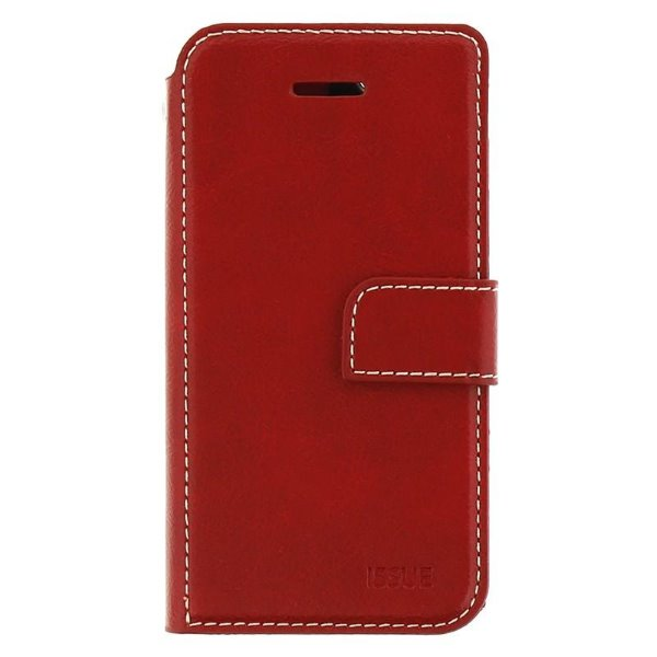 Puzdro Molan Cano Issue Book pre Xiaomi Redmi Note 9, Red