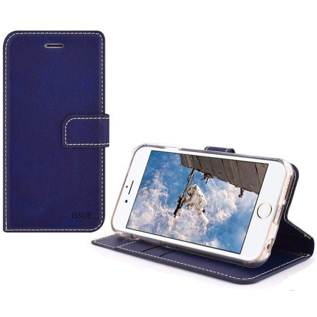 Puzdro Molan Cano Issue Book pre Xiaomi Redmi Note 9S a Note 9 Pro, Blue