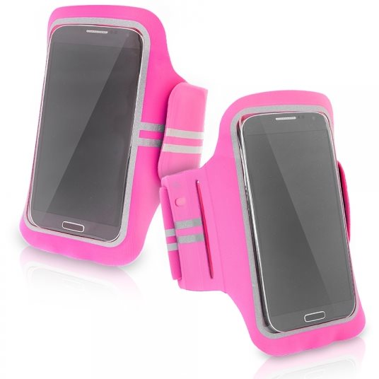 Puzdro na rameno SuperFit pre Apple iPhone 5 a 5S, Pink