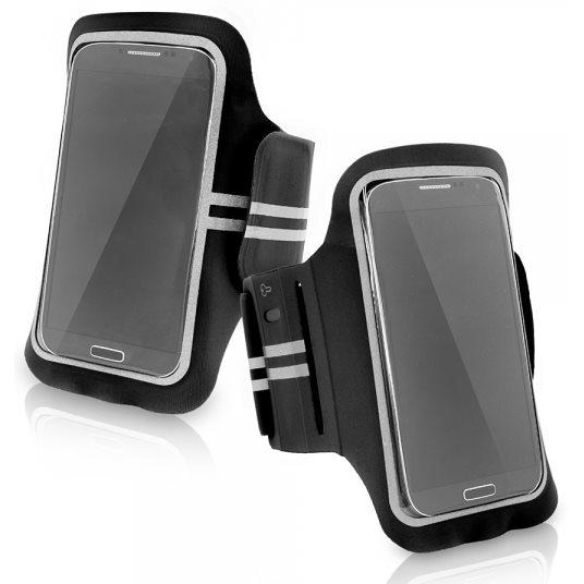 Puzdro na rameno SuperFit pre Váš smartfón do rozmerov 142 x 73 x 10 mm, Black