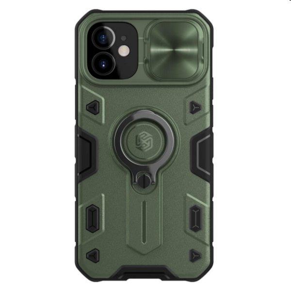 Púzdro Nillkin CamShield Armor pre iPhone 12 mini, Deep Green